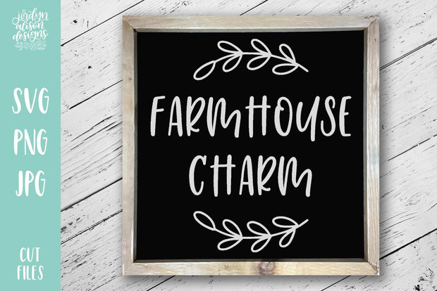 Cut File | Farmhouse Charm
