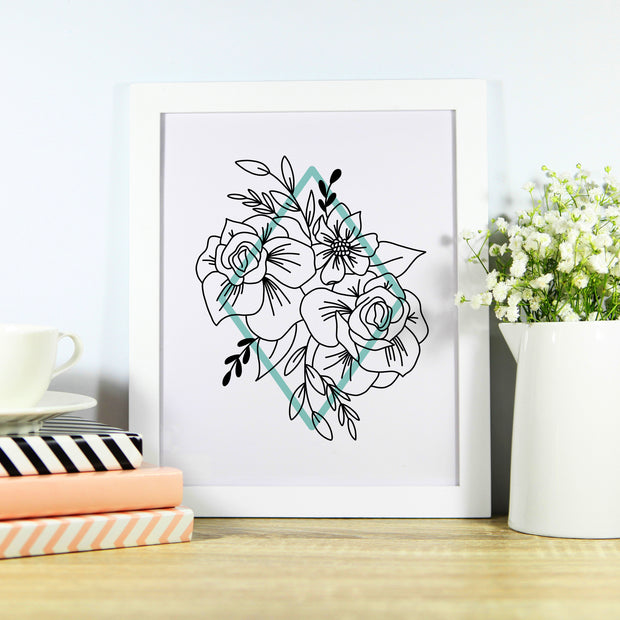 Floral Design, Printable Art