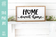 Cut File | Home Sweet Home Heart