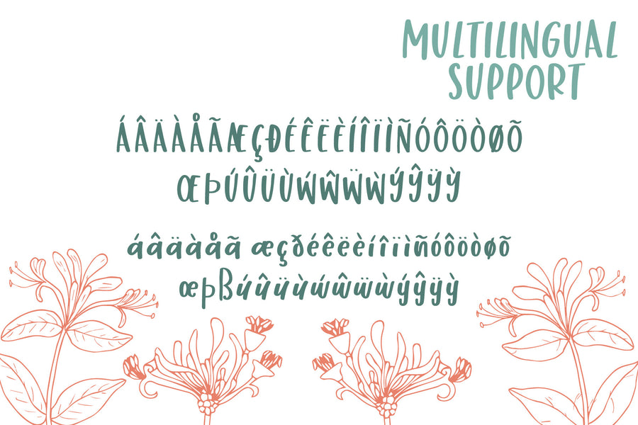 Honey Suckle Font