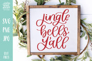 Cut File | Jingle Bells Y'all Christmas SVG