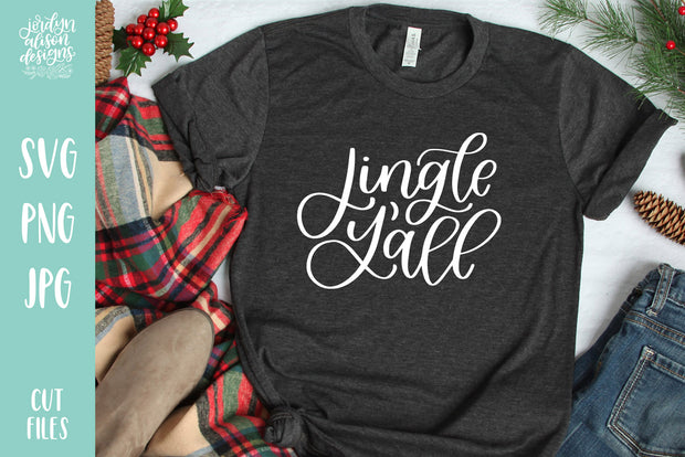 Cut File | Jingle Y'all Christmas SVG