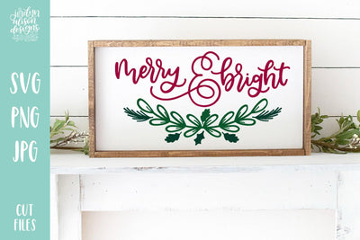 Cut File | Merry and Bright