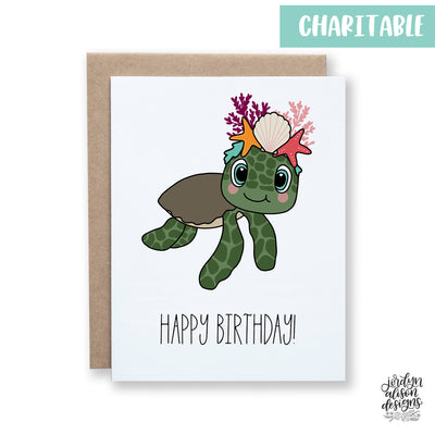 Sea Turtle Birthday