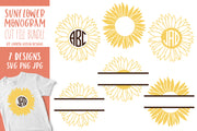 Sunflower Monograms