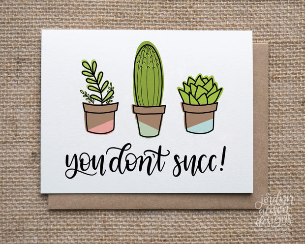 You Don't Succ