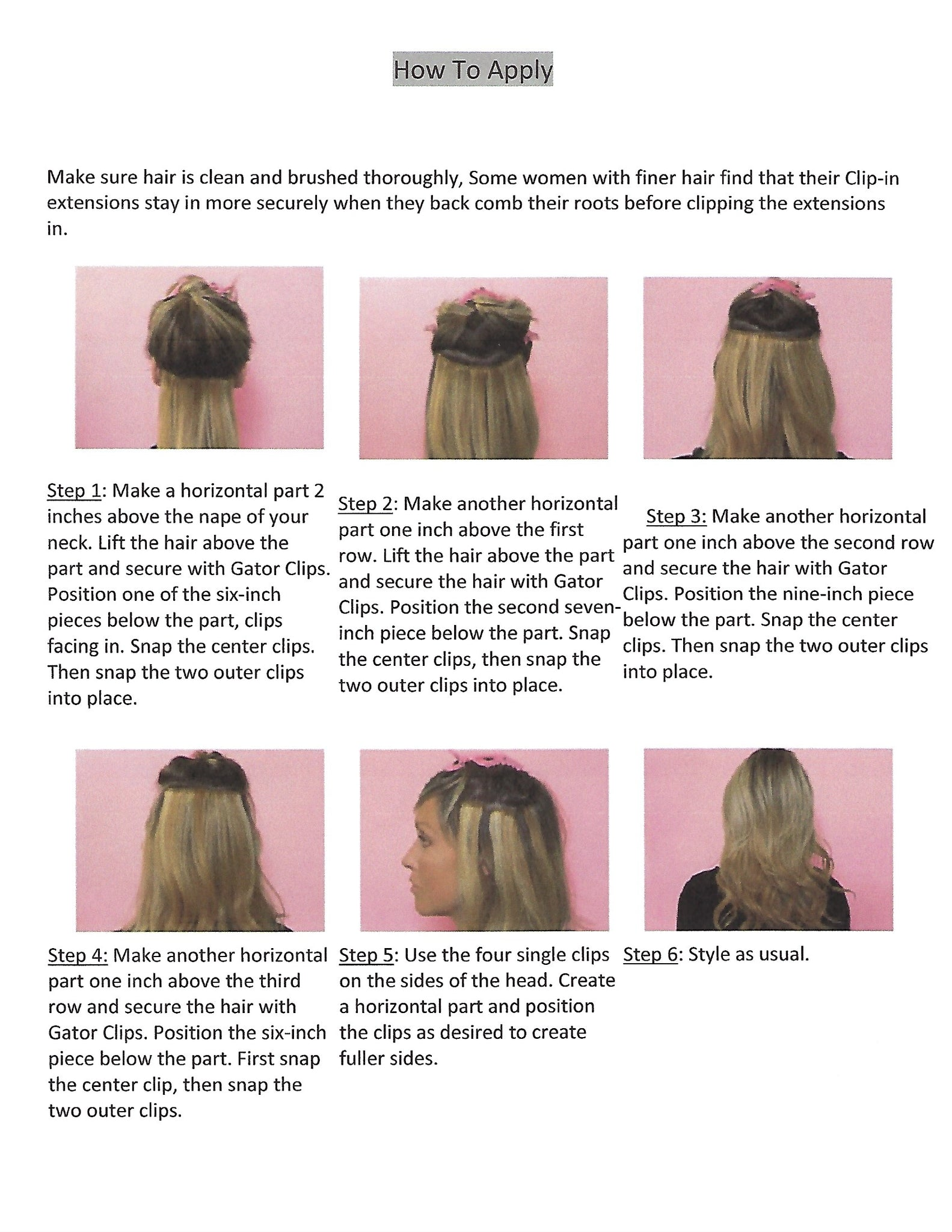 How To Install Clip In Extensions Diva Queen Hair