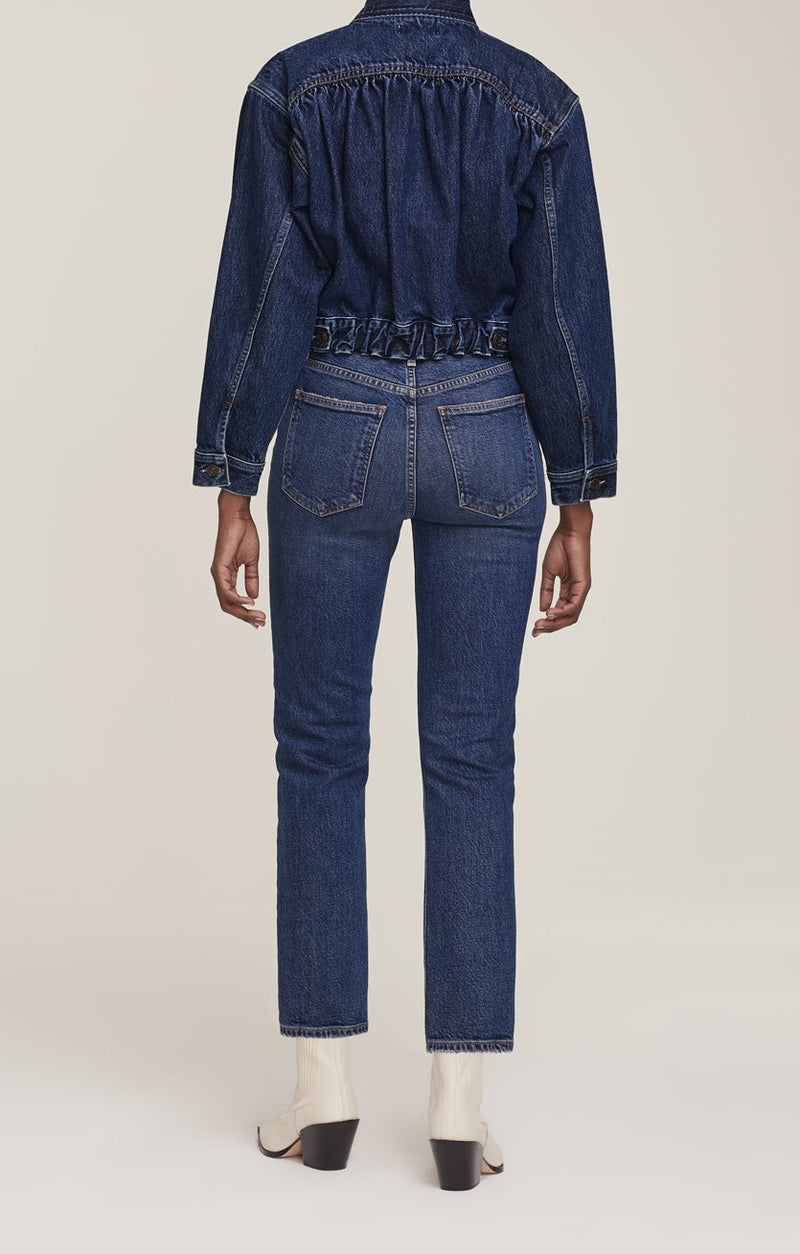 Wilder Jean Mid Rise Comfort in Hype - Style Collectif