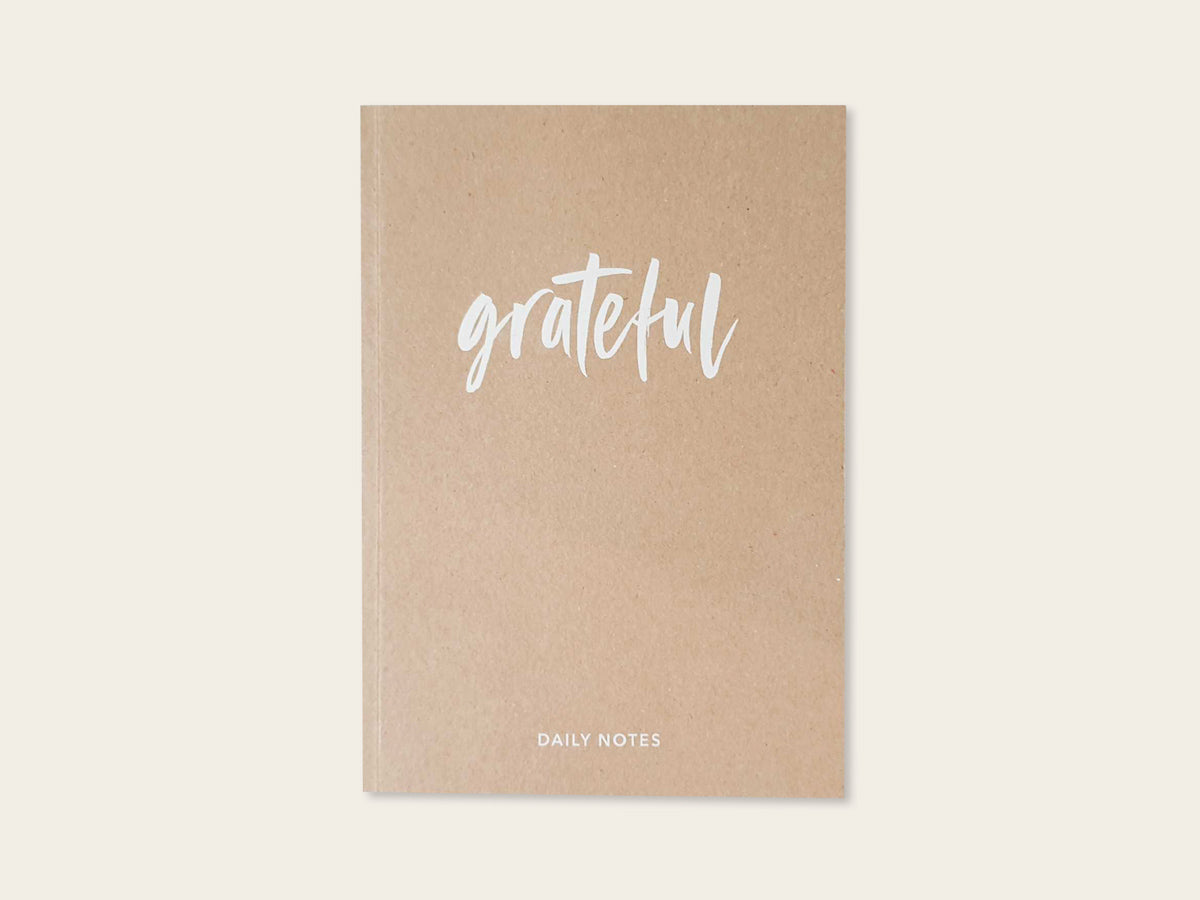 Grateful Daily Notes / Dankbarkeitsbuch - Schnørkelig