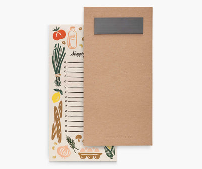Shopping Liste Markt Rifle Paper