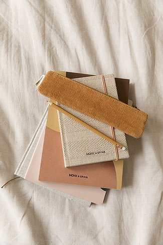 Notebook Monk & Anna - Structured Linen