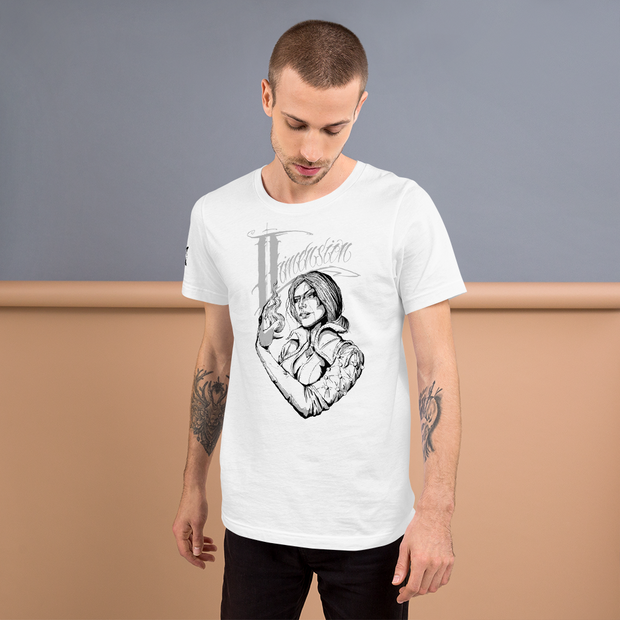 Dimension Ink Style: Unisex Short Sleeve Jersey T-Shirt