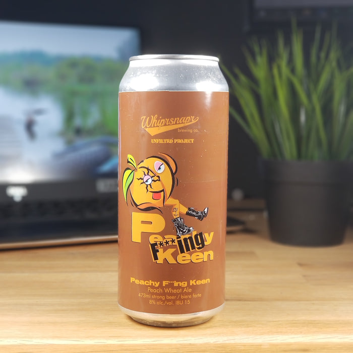 Unfiltrd Project Beer - Peachy F*ing Keen