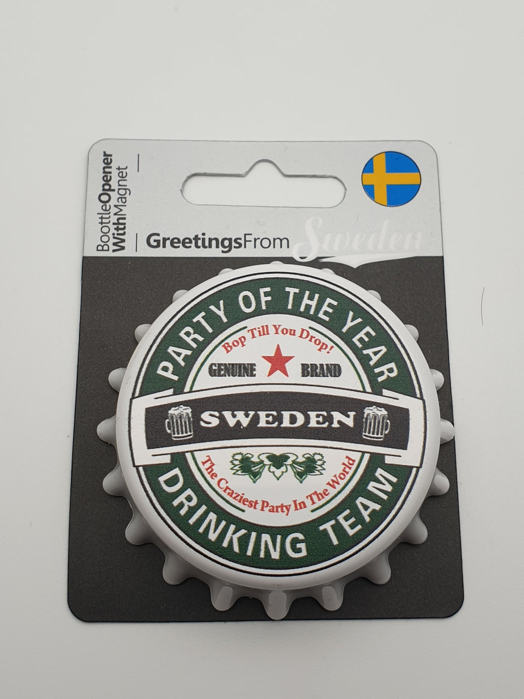 Sweden drinking team