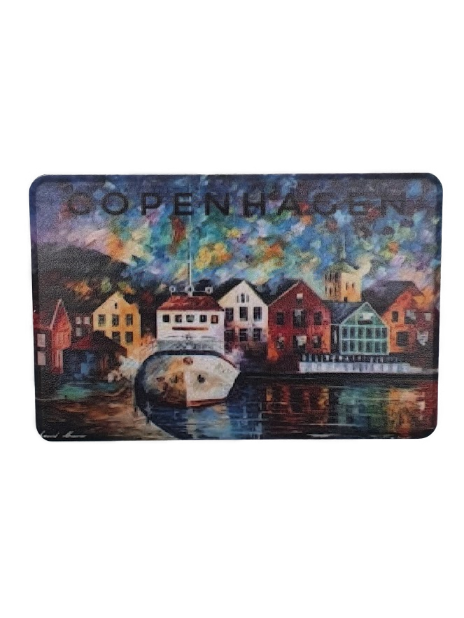 Copenhagen fridge magnet .2