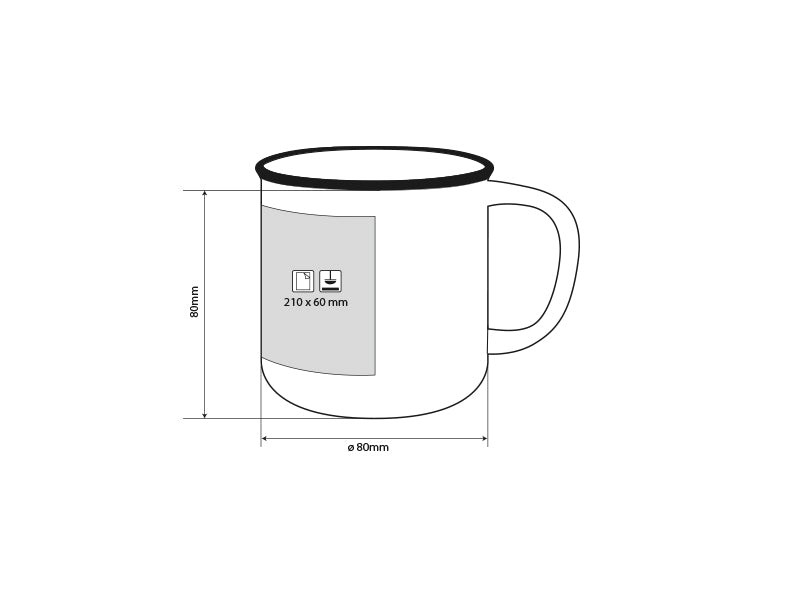 Betty bianco, keramic kaffe mug