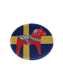 Dalahäst swedish flaga fridge magnet