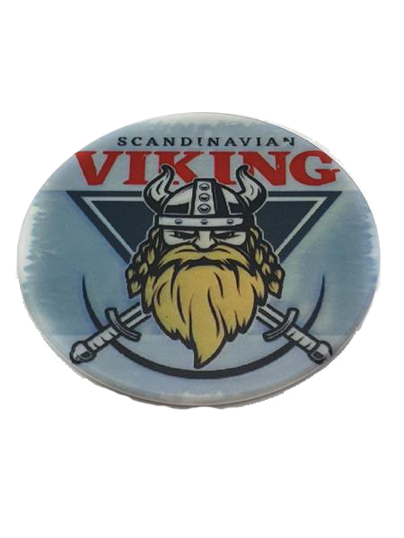 Scandinavian Viking cirkle fridge magnet
