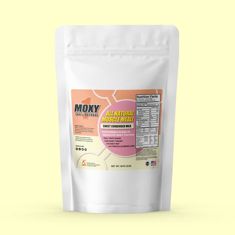 1MOXY *SWEET CONDENSED MILK [ALL NATURAL] 907G - 1Muscle.com
