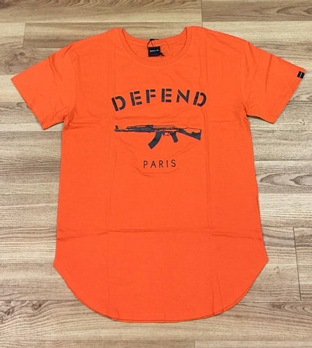 Defend Paris Uncontrol Org T-shirt