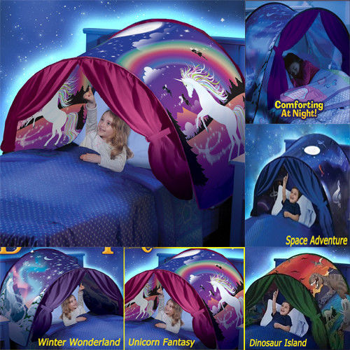 Dream Tents Space Adventure Wonderland Foldable Tent Pop up Indoor Bed