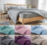 Fleece Luxury Duvet Covers Soft Bedding Sets