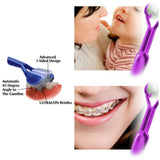3-Sided Toothbrush for Special Sensory Needs, SEN, Autism