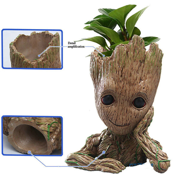 Guardians of The Galaxy Baby Groot Figure Brush Pot