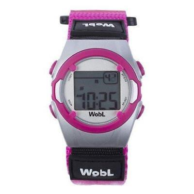 WobL Watch - Children's 8-Alarm Vibrating Potty Training Reminder Watch