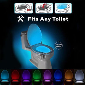 LED-Toilet-Bowl-Seat-Illuminated-Sensor-Night-Light-8 Colors-Changing-Auto