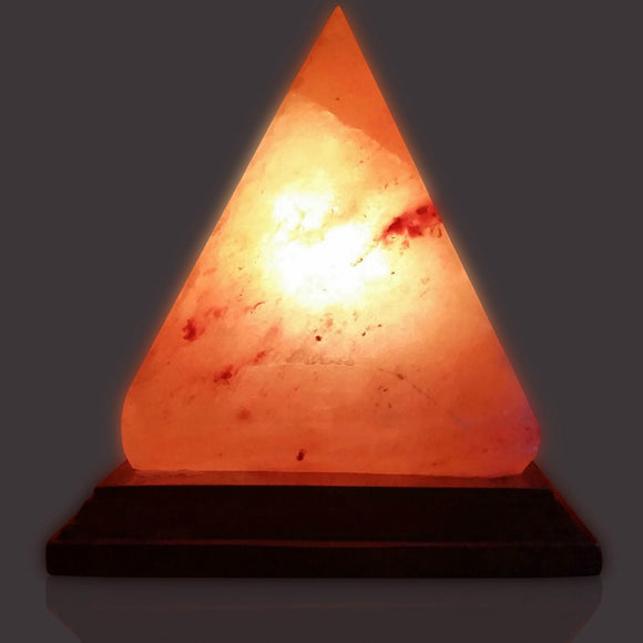 Himalayan Natural USB Plug Crystal Rock Night Light Salt Lamp Ionic Air Purifier