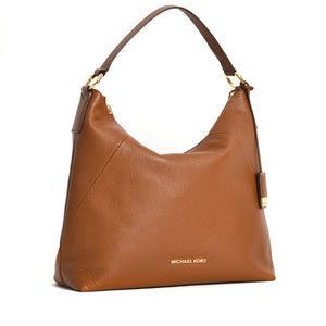 MICHAEL KORS KARSON LARGE SHOULDER BAG IN LUGGAGE