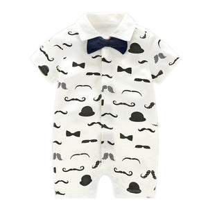 Little Gentleman Ultimate Romper & Bow Tie