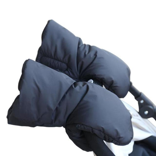 Stroller Hand Warmer Fleece Gloves - 2 Piece