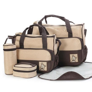 Bunny Changing Bag Set- 5 Pieces