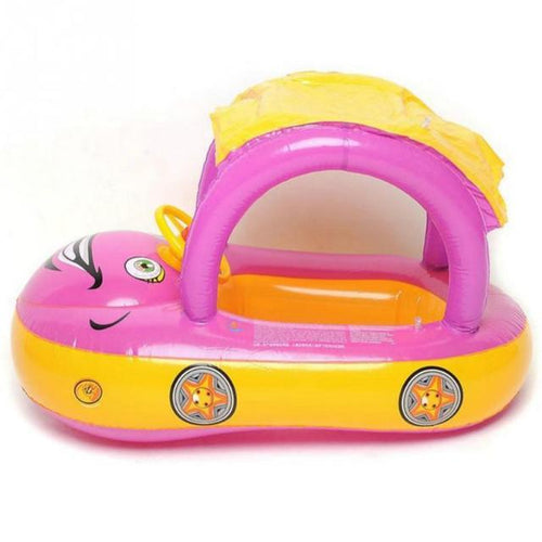 Baby Inflatable Pink Car