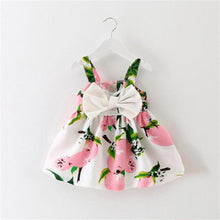 Floral Dress With Big Bow