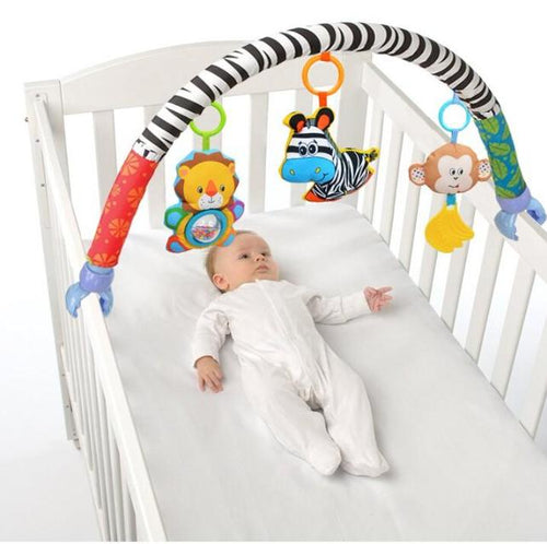 Jungle Friends Zebra Flexible Arch Mobile