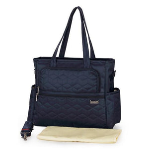 Insular Multifunctional Tote Changing Bag Navy Blue