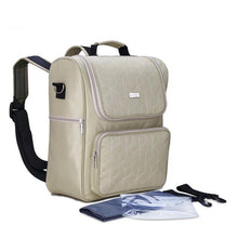 Insular Luxury Square Changing Backpack