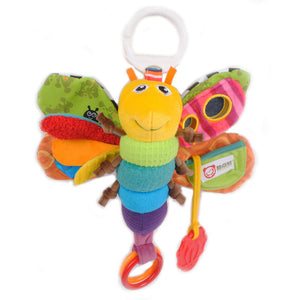 Butterfly Rattle Hanging Soft Toy