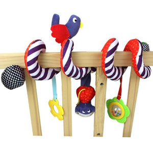 Little Bird & Friends Activity Spiral Mobile