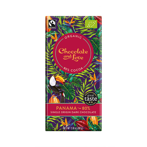 Chocolate and Love »Panama« 80g Tafel