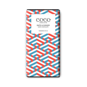 Coco »DATE & GINGER« 80g Tafel