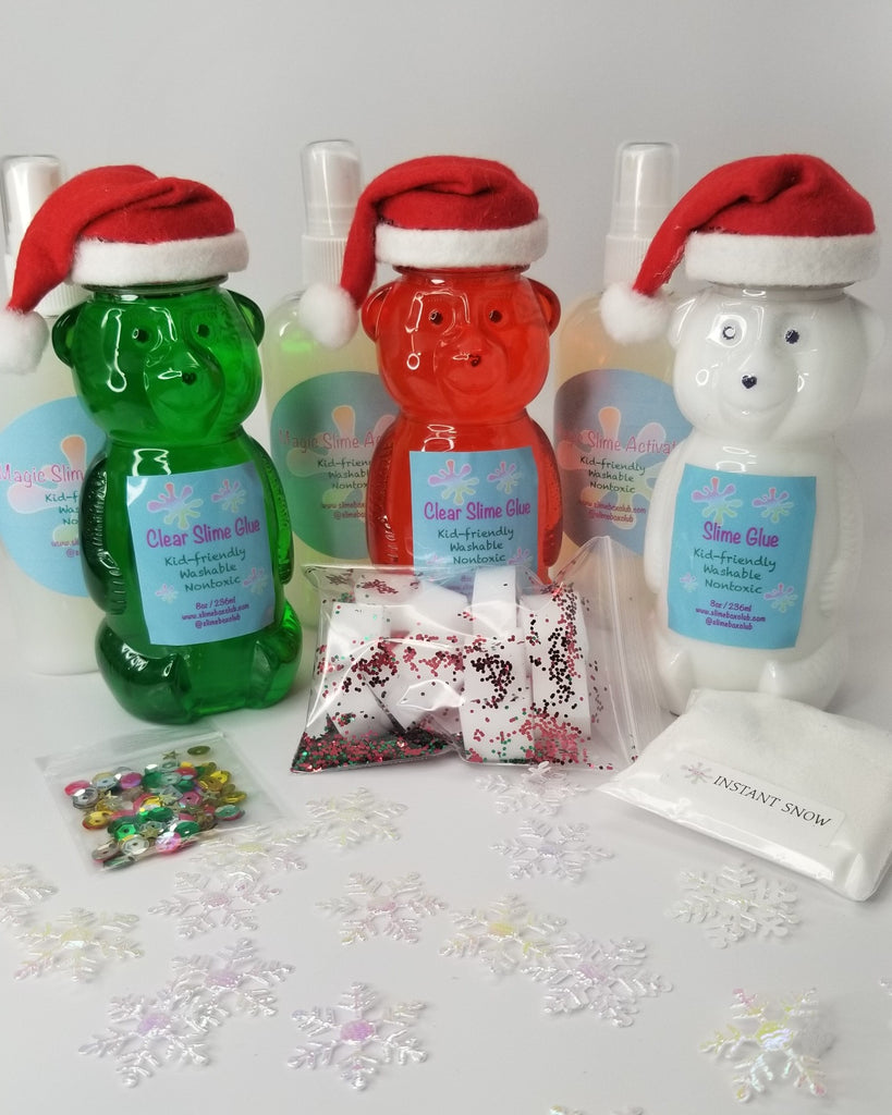 HOLIDAY EDITION - DIY Slime Bear - Set of 3