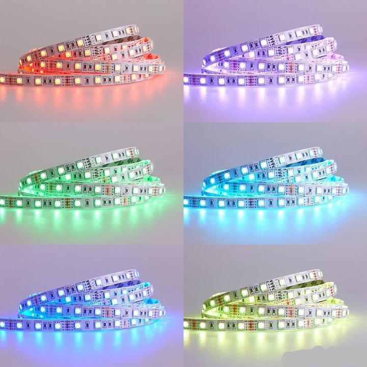 Color Changing LED Light Strip with Remote Control (16 Feet)