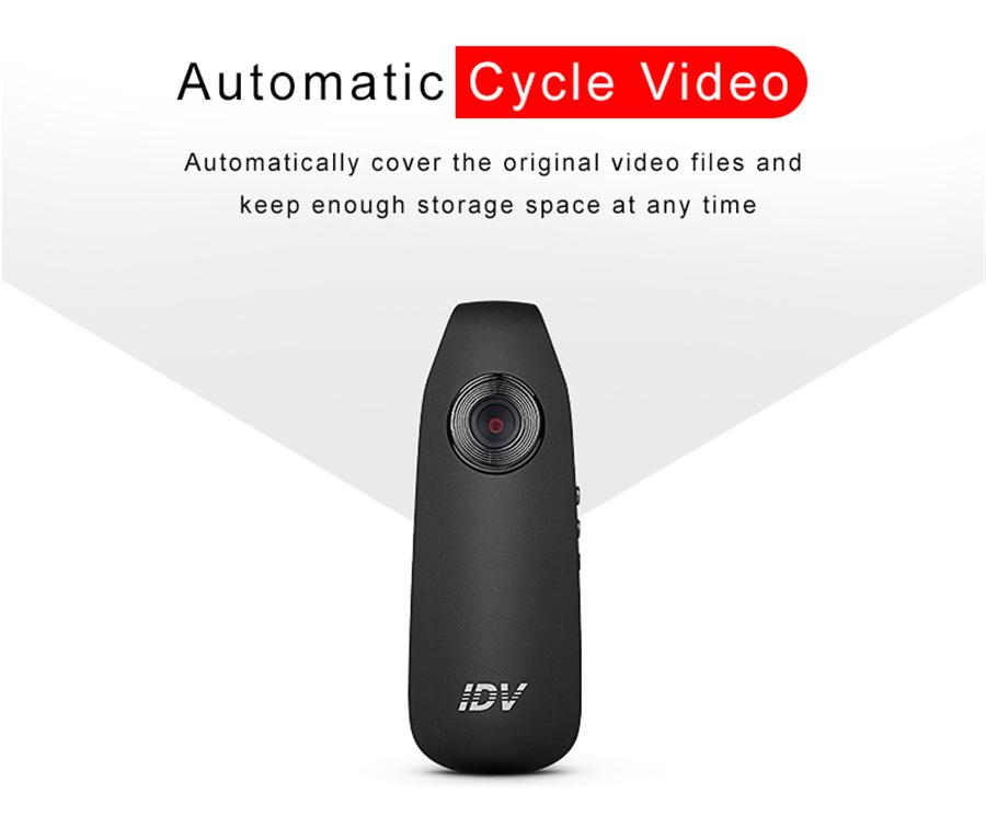Full HD Wearable Action Camcorder