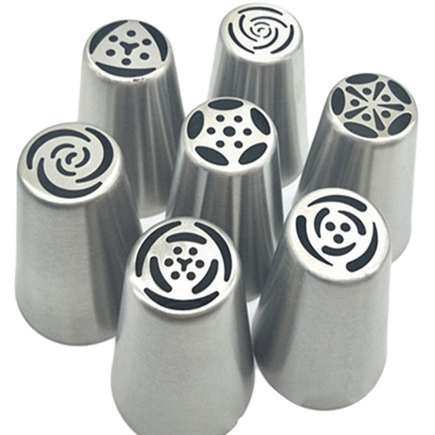 Stainless Steel Pastry Nozzles- Russian Tulip Icing Tool