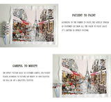 DIY Painting By Numbers - Paris Street Home & Garden SoulOnSoul