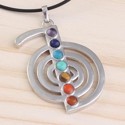 Silver Plated Energy Balance Symbol Jewelry SoulOnSoul